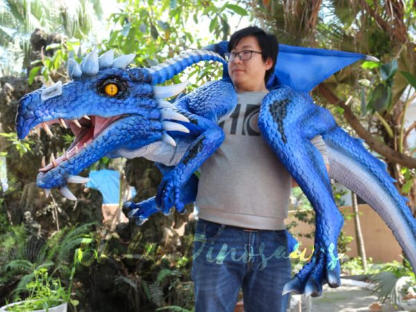 Customized-Blue-Ice-Dragon-Shoulder-Puppet2-2
