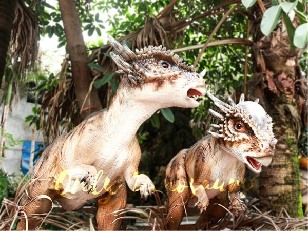 Cute Animatronic Baby Stygimoloch for Park Model3