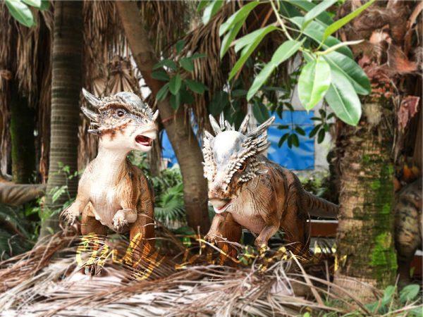 Cute Animatronic Baby Stygimoloch for Park Model5