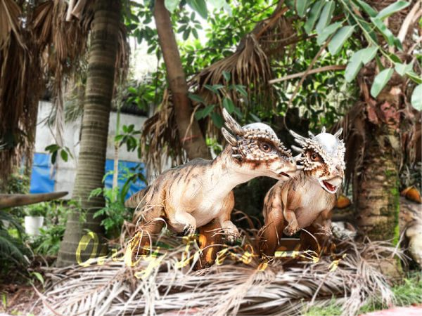 Cute Animatronic Baby Stygimoloch for Park Model6