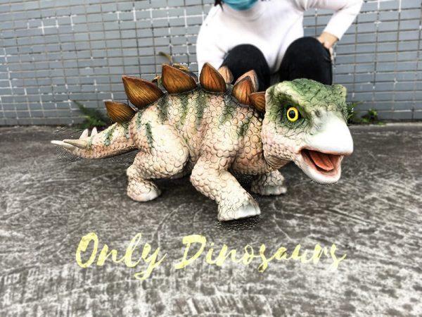 Cute Baby Dinosaur Stegosaurus Puppet 1M Long1 1