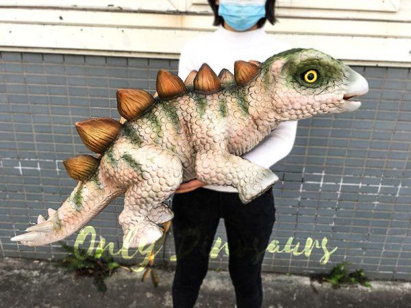 Cute Baby Dinosaur Stegosaurus Puppet 1M Long2 1