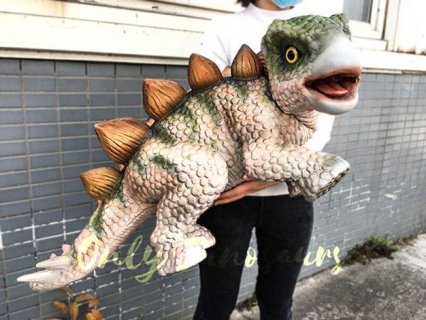 Cute Baby Dinosaur Stegosaurus Puppet 1M Long3 1