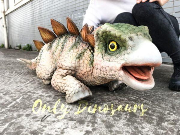 Cute Baby Dinosaur Stegosaurus Puppet 1M Long7 1