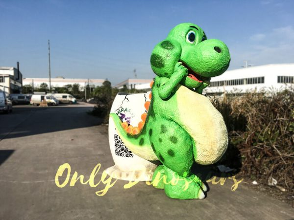 Cute Cartoon Dinosaur Costume in Green Color6 1