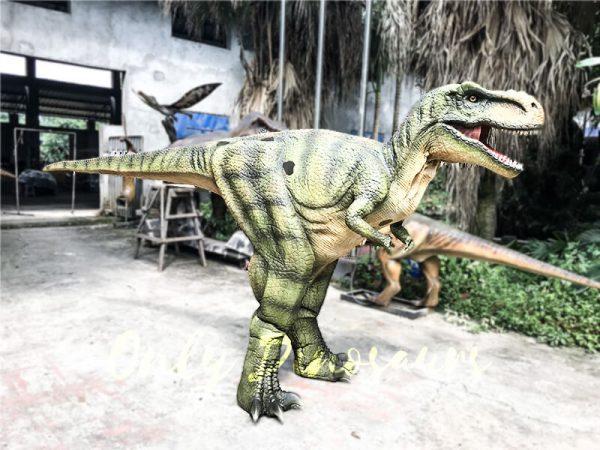Dino Costume Green Tyrannosaurus Rex for Event1 1