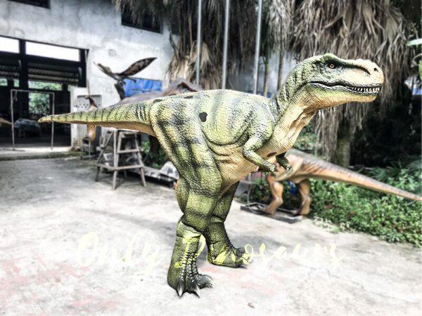 Dino Costume Green Tyrannosaurus Rex for Event2 1