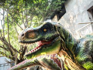 Dinosaur Suit of Jurassic Park T Rex