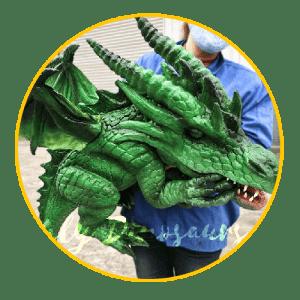 Dragon puppet thumbnail 3