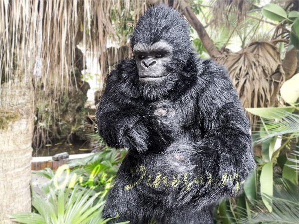 Exhibition Props Realistic Gorilla Costume1