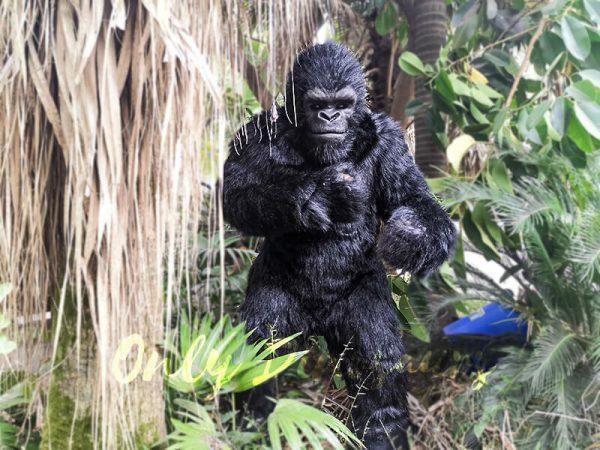 Exhibition Props Realistic Gorilla Costume3