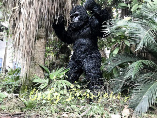 Exhibition Props Realistic Gorilla Costume4