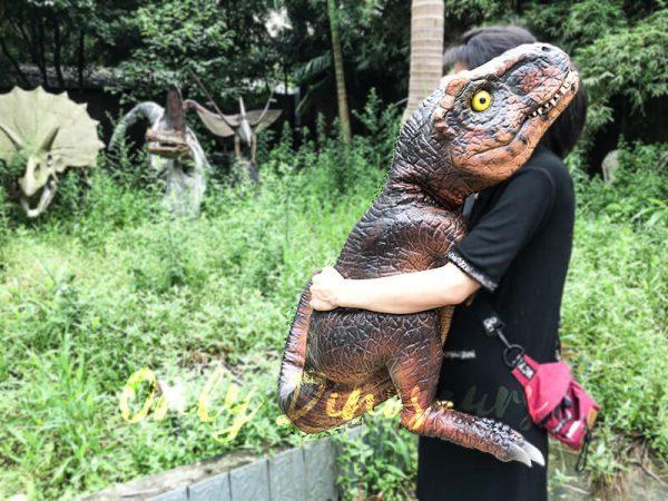 Field Lifelike T-Rex Baby Puppet for outdoor5