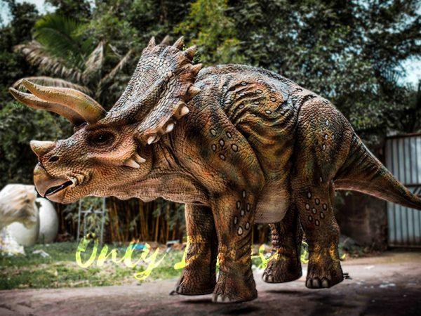 Four Legged Dinosaur Costume Triceratops Suit1