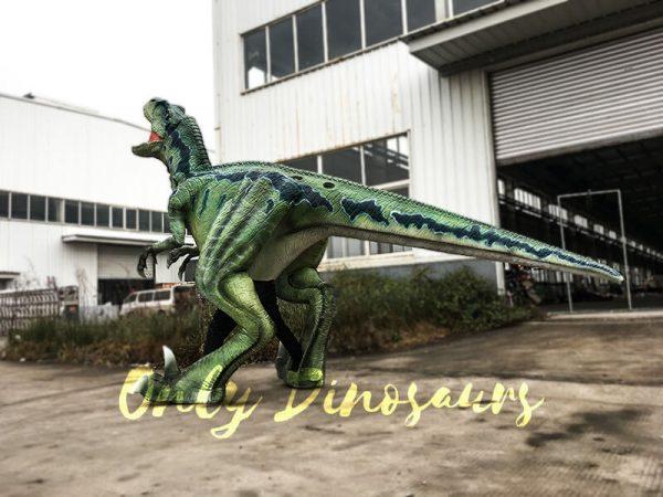 Halloween Realistic Velociraptor Costume3 1