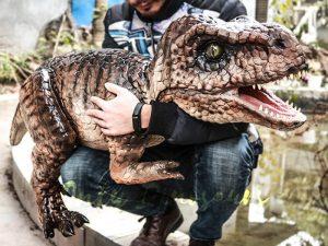 Halloween Tyrannosaurus Puppet for Puppeteer