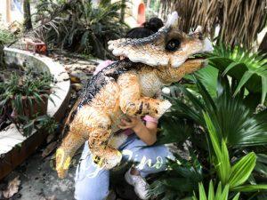Hand Control Dinosaur Puppet Customized High Quality