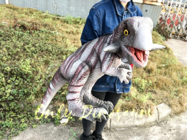 Hand Control Dinosaurs Toy Realistic Psittacosaurus Puppet1 feature 1