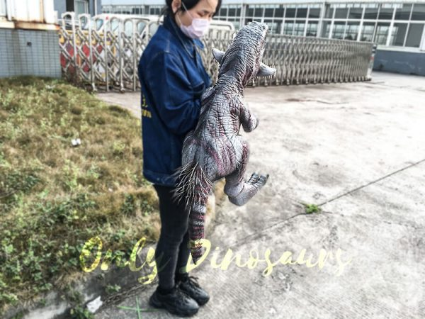 Hand Control Dinosaurs Toy Realistic Psittacosaurus Puppet5 1