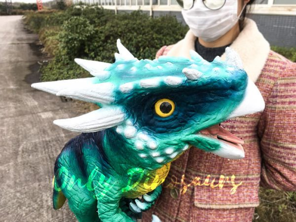 Hand Doll Dracorex Puppet For Kids4
