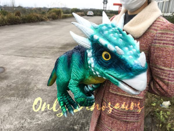 Hand Doll Dracorex Puppet For Kids7