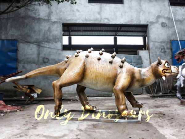 Helmeted Custom Dinosaur Ankylosaur with Cute Eyes12