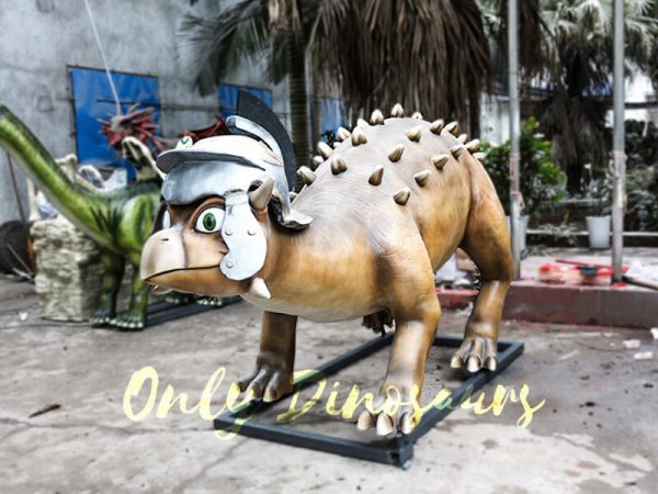 Helmeted Custom Dinosaur Ankylosaur with Cute Eyes3 1
