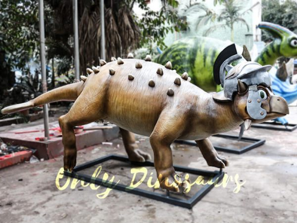 Helmeted Custom Dinosaur Ankylosaur with Cute Eyes4 1