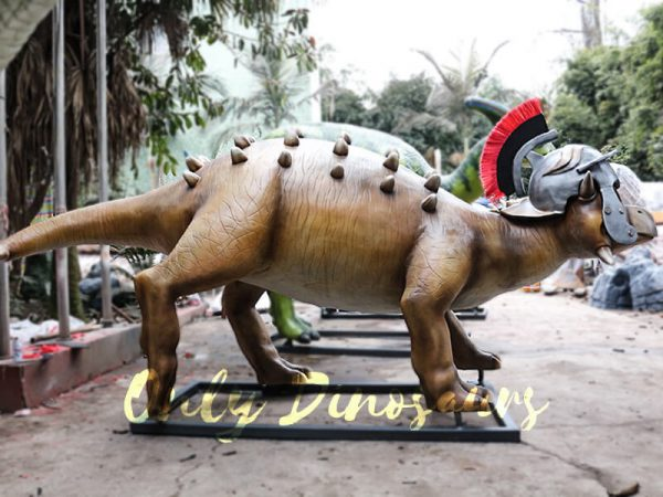 Helmeted Custom Dinosaur Ankylosaur with Cute Eyes5 1