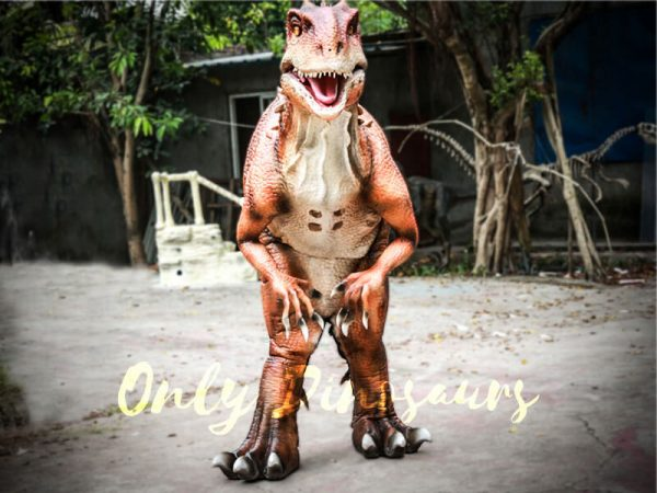 Indominus Rex Dinosaur Costumes Orange3
