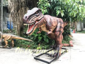 Jurassic Park Animatronic T-Rex Dinosaur Brown