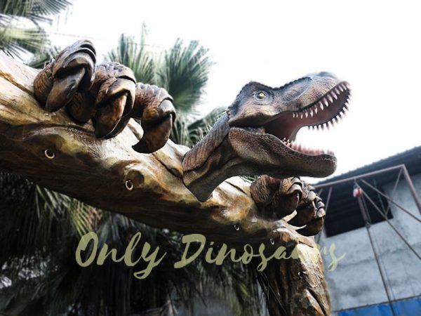 Jurassic Park Fiberglass T Rex Head Gate Entrance2 1