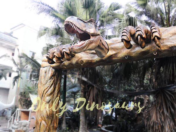 Jurassic Park Fiberglass T Rex Head Gate Entrance3 1