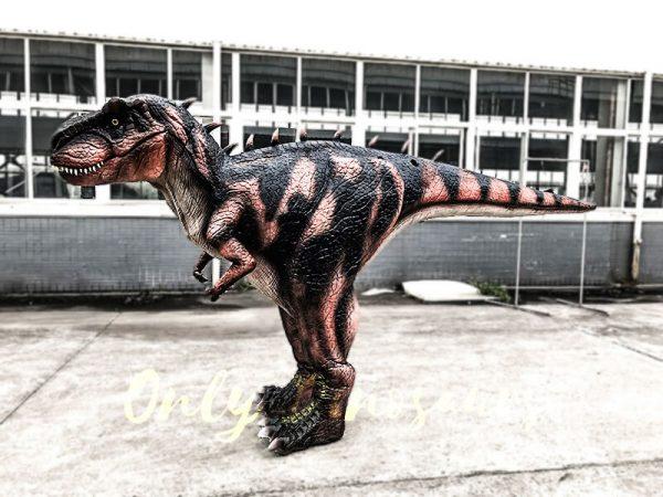 Jurassic Park T-Rex Costume Hidden Legs3