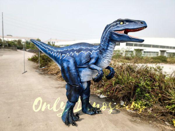 Jurassic Park Velociraptor Costume Blue in Reality3 1