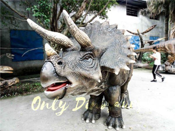 Jurassice World Realistic Triceratops Costume3 1