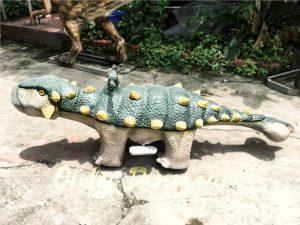 Kids Toy Animatronic Ankylosaur Kiddie Dinosaur Ride