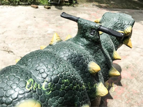 Kids Toy Animatronic Ankylosaur Kiddie Dinosaur Ride4 1