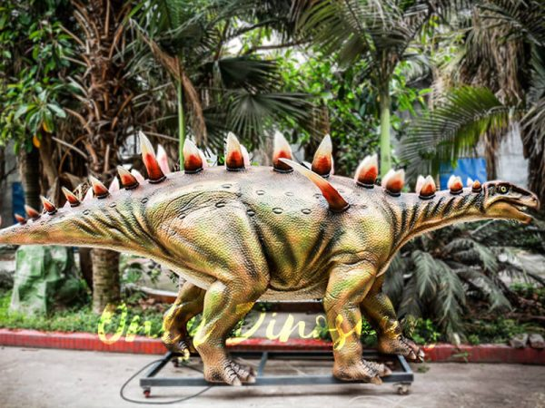 Life Size Animatronic Huayangosaurus Attraction1 1