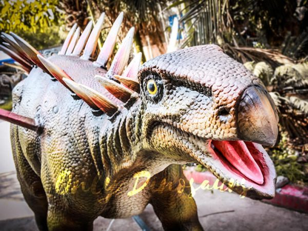 Life Size Animatronic Huayangosaurus Attraction5 1