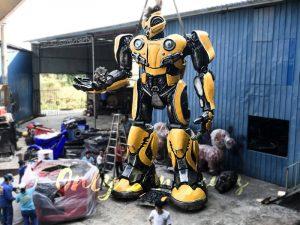 Life Size Custom Transformer Bumblebee