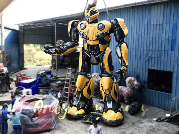 Life Size Custom Transformer Bumblebee1