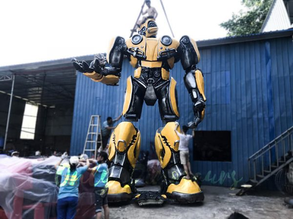 Life Size Custom Transformer Bumblebee3