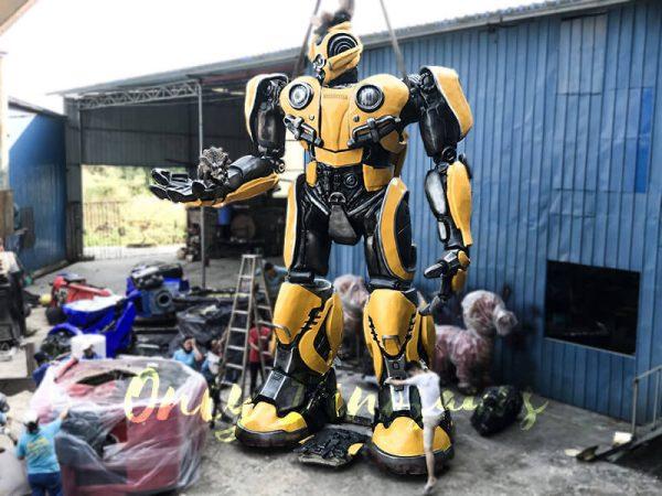 Life Size Custom Transformer Bumblebee6