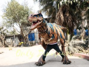 Life Size Rex Costume for Performer1 1