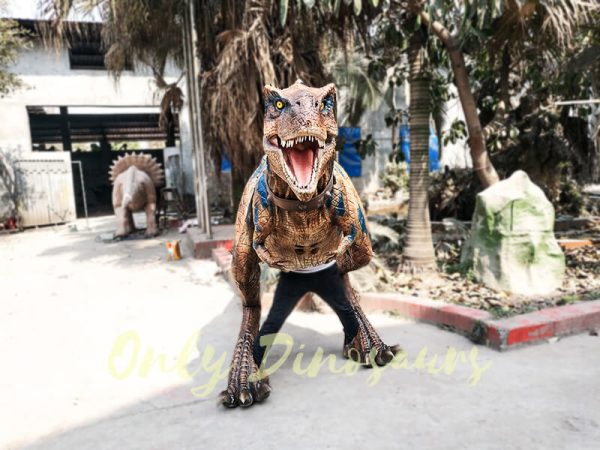 Life Size Rex Costume for Performer4 1