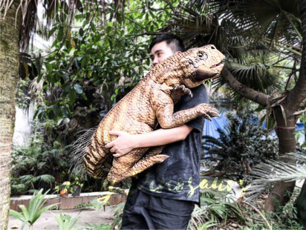 Lifelike Psittacosaurus Puppet for School Education4 1