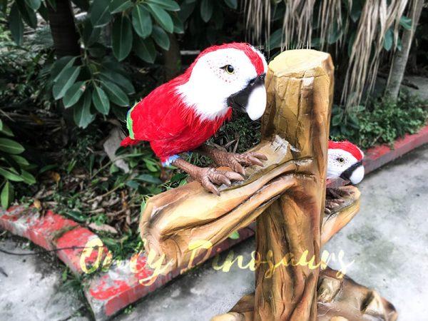 Likelike Animatronic Parrot Model Robotic Macaw for Garden1 1