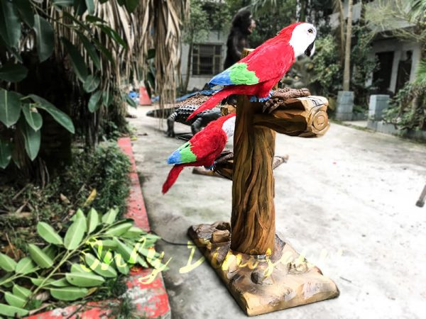 Likelike Animatronic Parrot Model Robotic Macaw for Garden3 1