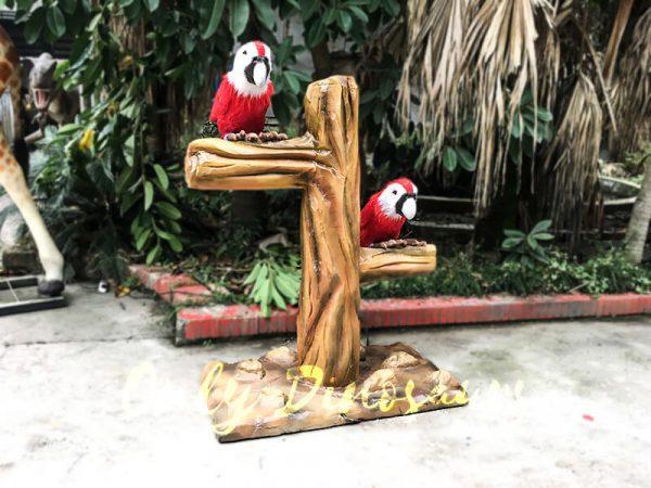 Likelike Animatronic Parrot Model Robotic Macaw for Garden4 1